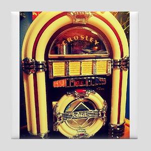 1947 Crosley Jukebox Tile Coaster