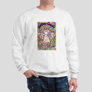 Spring Hearts Cancer Angel Sweatshirt