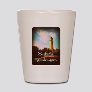 Spokane, Washington Shot Glass