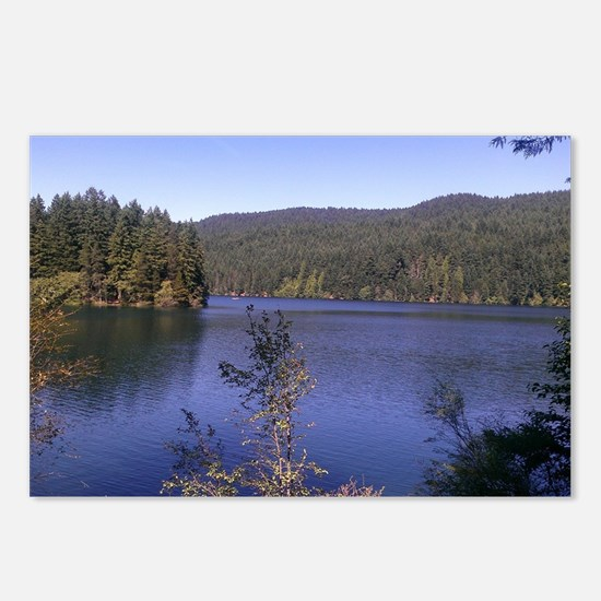 Orcas Island Lake Full, S Postcards (Package of 8)