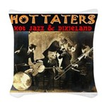 Hot Taters Woven Throw Pillow