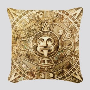 Aztec Design Woven Throw Pillow