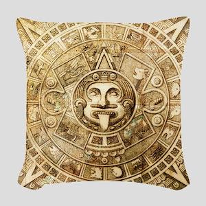 Aztec Design Woven Throw Pillow