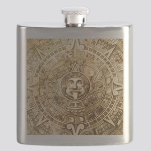 Aztec Design Flask