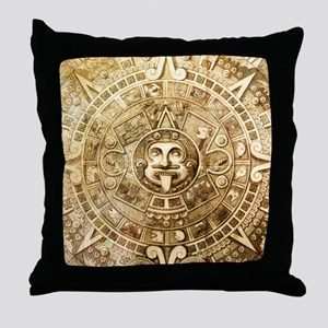 Aztec Design Throw Pillow
