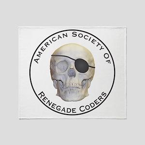 Renegade Coders Throw Blanket