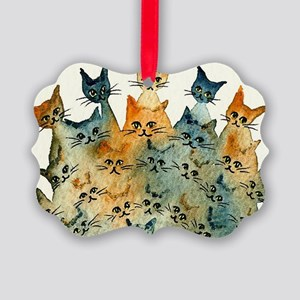 Charlottesville Stray Cats Picture Ornament