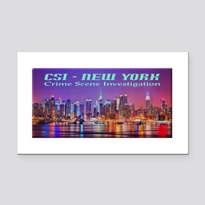 CSI New York Skyline Rectangle Car Magnet