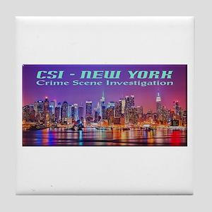 CSI New York Skyline Tile Coaster