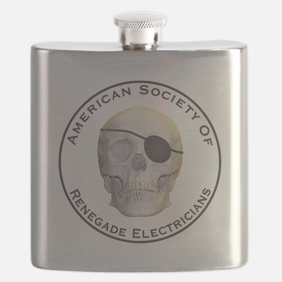 Renegade Electricians Flask
