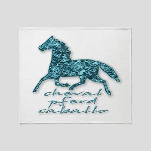 Horse Throw Blanket