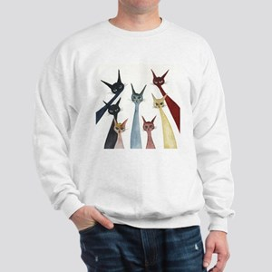 Aroostook Stray Cats  Sweatshirt