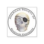Renegade Engineers Square Sticker 3