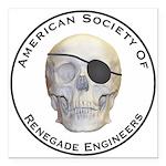 Renegade Engineers Square Car Magnet 3