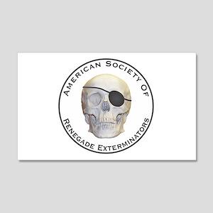 Renegade Exterminators 20x12 Wall Decal
