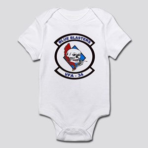 VFA 34 Blue Blasters Infant Bodysuit