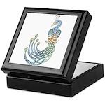 Celtic Peacock Keepsake Box