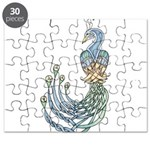 Celtic Peacock Puzzle