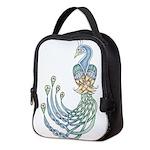 Celtic Peacock Neoprene Lunch Bag