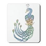 Celtic Peacock Mousepad