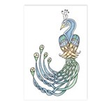 Celtic Peacock Postcards (Package of 8)