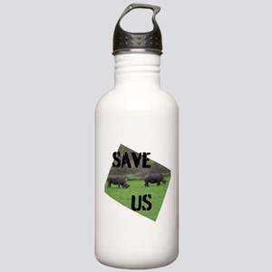 Save the Rhinos Water Bottle