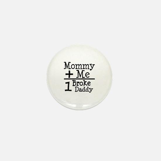 Mommy Plus Me Mini Button
