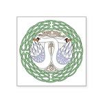 Celtic Swans Sticker
