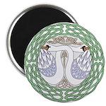 Celtic Swans Magnets