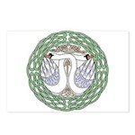 Celtic Swans Postcards (Package of 8)