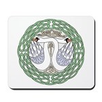 Celtic Swans Mousepad