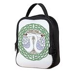 Celtic Swans Neoprene Lunch Bag