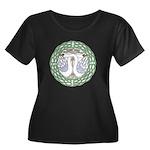 Celtic Swans Plus Size T-Shirt