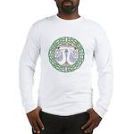 Celtic Swans Long Sleeve T-Shirt
