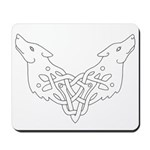 Two Wolves Mousepad
