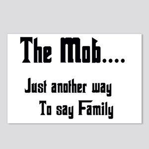 The Mob Postcards (Package of 8)