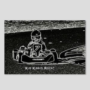 Kid Karts Rock Postcards (Package of 8)
