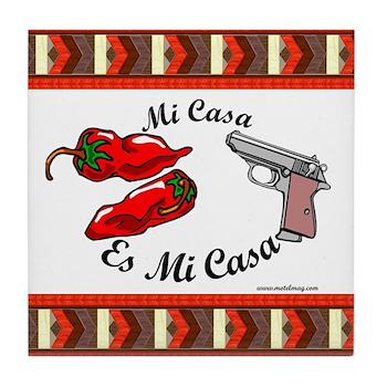 Mi Casa Es Mi Casa Tile Coaster