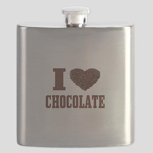 I Love Chocolate Flask