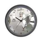 Low Morale Wall Clock