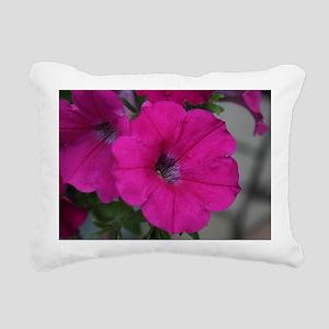 velvet flower Rectangular Canvas Pillow