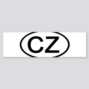 Czech Republic-CZ Bumper Sticker