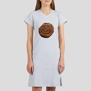 Ancient Menorah Women's Nightshirt