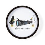 WTD: Size Matters Wall Clock