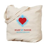 Heart Of Passion Tote Bag