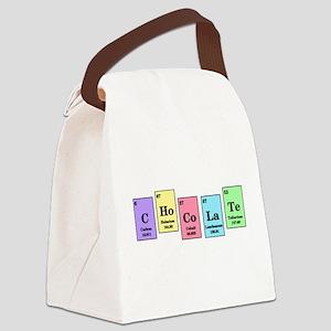 Elemental Chocolate Canvas Lunch Bag