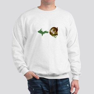 God Creates The U.P. Sweatshirt