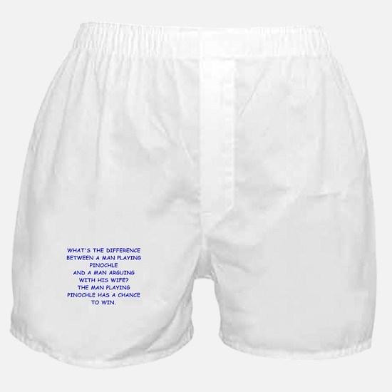 pinochle Boxer Shorts