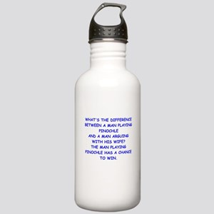 pinochle Water Bottle
