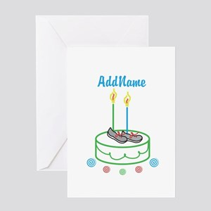 CUSTOMIZE Sports Birthday Greeting Cards